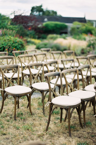 Photo by Christie Graham Photography: Vineyard Chairs